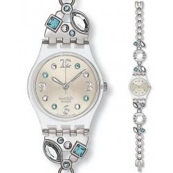 Women's Swatch Watch Lady Menthol Tone LK292G