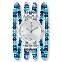 Women's Swatch Watch Lady Blues Prohibition LK353