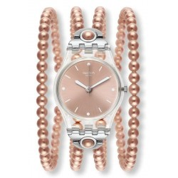Women's Swatch Watch Lady Pink Prohibition LK354