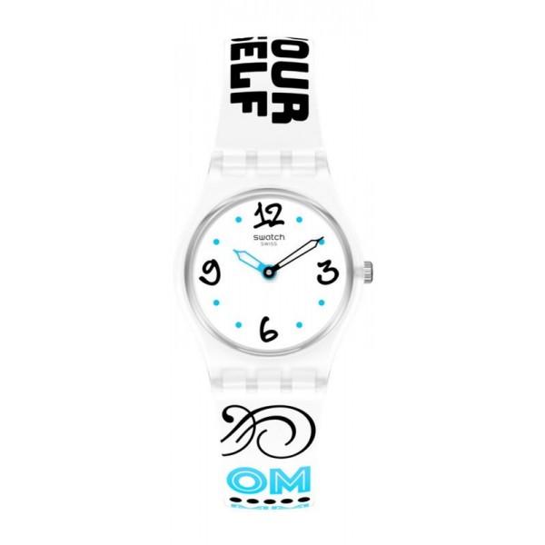 Buy Womens Swatch Watch Lady #Bluefeather LW171