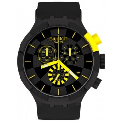 Buy Swatch Watch Big Bold Chrono Checkpoint Yellow SB02B403