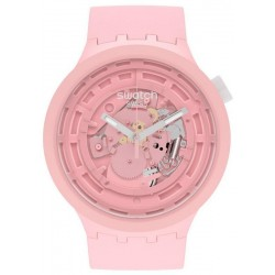 Buy Swatch Watch Big Bold C-Pink SB03P100