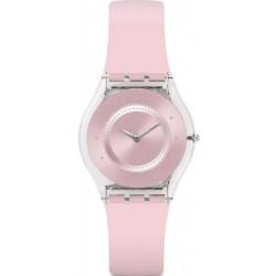 Women's Swatch Watch Skin Classic Pink Pastel SFE111