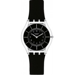 Buy Women's Swatch Watch Skin Classic Black Classiness SFK361