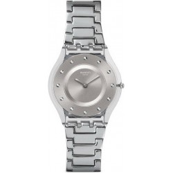 Buy Women's Swatch Watch Skin Classic Silver Drawer SFK393G