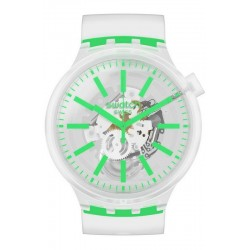Buy Swatch Watch Big Bold Greeninjelly SO27E104