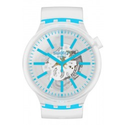 Buy Swatch Watch Big Bold Blueinjelly SO27E105
