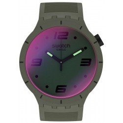 Buy Swatch Watch Big Bold Futuristic Green SO27M105