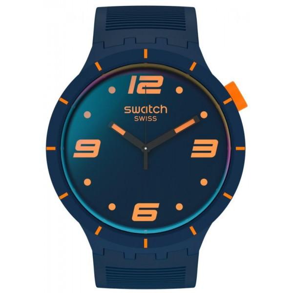 Buy Swatch Watch Big Bold Futuristic Blue SO27N110