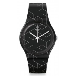 Unisex Swatch Watch New Gent Cnosso SUOB161