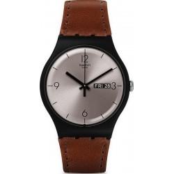 Unisex Swatch Watch New Gent Lonely Desert SUOB721