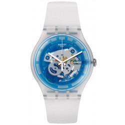 Unisex Swatch Watch New Gent Blumazing SUOK129