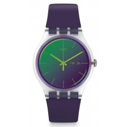 Women's Swatch Watch New Gent Polapurple SUOK712