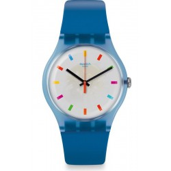 Unisex Swatch Watch New Gent Color Square SUON125