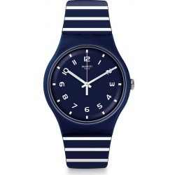 Unisex Swatch Watch New Gent Striure SUON130