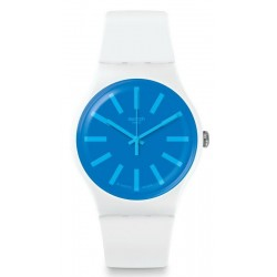 Unisex Swatch Watch New Gent Glaceon SUOW163