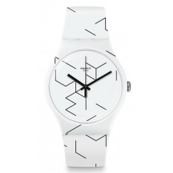 Unisex Swatch Watch New Gent Meiro SUOW164