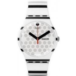 Unisex Swatch Watch New Gent Zebratian SUOW706