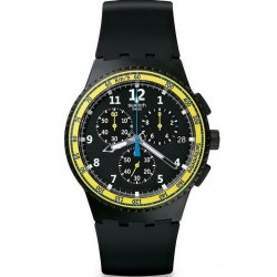 Men's Swatch Watch Chrono Plastic Sifnos SUSB404 Chronograph