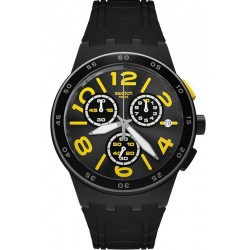 Buy Unisex Swatch Watch Chrono Plastic Pneumatic SUSB412 Chronograph