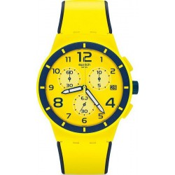Buy Unisex Swatch Watch Chrono Plastic Solleore SUSJ401 Chronograph