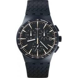 Buy Men's Swatch Watch Chrono Plastic Meine Spur SUSN407 Chronograph