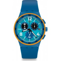 Buy Unisex Swatch Watch Chrono Plastic Capanno SUSN413 Chronograph