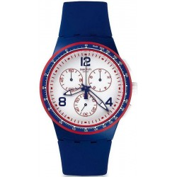 Buy Unisex Swatch Watch Chrono Plastic Fast Server SUSZ100 Chronograph