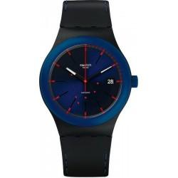 Unisex Swatch Watch Sistem51 Sistem Notte SUTB403 Automatic