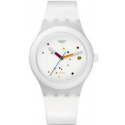 Unisex Swatch Watch Sistem51 Sistem White SUTW400 Automatic