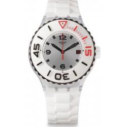 Unisex Swatch Watch Scuba Libre Blanca SUUK401
