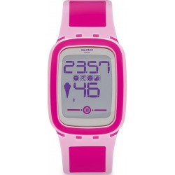 Buy Women's Swatch Watch Digital Touch Zero One Pinkzero SUVP100