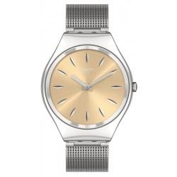 Unisex Swatch Watch Skin Irony Skingoldenblink SYXS133M