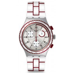 Unisex Swatch Watch Irony Chrono Speed Counter YCS1012 Chronograph