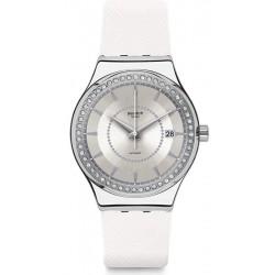 Women's Swatch Watch Irony Sistem51 Sistem Snow YIS406 Automatic