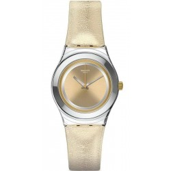 Women's Swatch Watch Irony Medium Shiny Star YLS190
