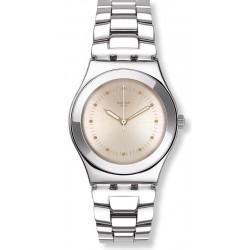 Women's Swatch Watch Irony Medium Puntagialla YLS197G