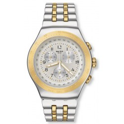 Unisex Swatch Watch Irony Chrono Live My Time YOS458G Chronograph