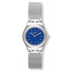 Women's Swatch Watch Irony Lady Twin Blue YSS299M