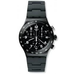 Men's Swatch Watch Irony Chrono Destination Manhattan YVB402G Chronograph
