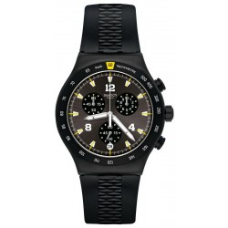Men's Swatch Watch Irony Chrononero YVB405 Chronograph