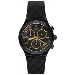 Unisex Swatch Watch Irony Chrono Crazy For Precious YVB408 Chronograph