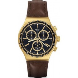 Men's Swatch Watch Irony Chrono V'Dome YVG401 Chronograph
