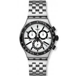 Men's Swatch Watch Irony Chrono Destination Rotterdam YVS416G Chronograph