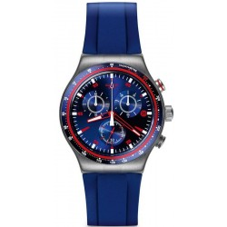 Men's Swatch Watch Irony Chrono Hookup YVS417 Chronograph