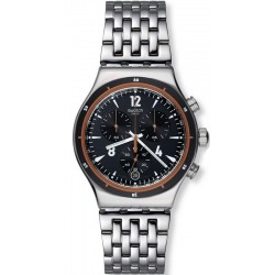 Men's Swatch Watch Irony Chrono Destination Madrid YVS419G Chronograph
