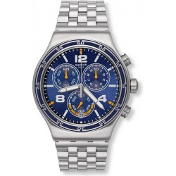 Men's Swatch Watch Irony Chrono Destination Barcelona YVS430G Chronograph
