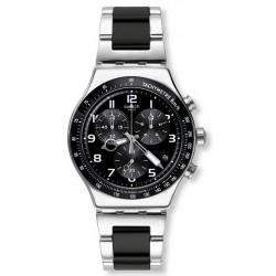 Men's Swatch Watch Irony Chrono Speed Up YVS441G Chronograph