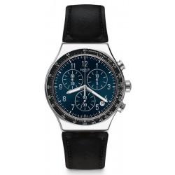 Men's Swatch Watch Irony Chrono Chic Sailor YVS448 Chronograph