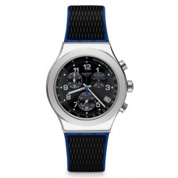 Men's Swatch Watch Irony Chrono Secret Mission YVS451 Chronograph